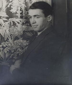Portrait photograph of James Stewart: Stewart, James) Van
