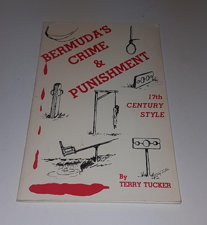 Bermudas_Crime_&_Punishment__17th_Century_Style_***Signed_by_Author***_Tucker_Terry_Assez_bon_Couverture_souple