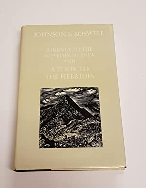 Johnson's Journey to the Western Islands of: Johnson, Samuel; Boswell,