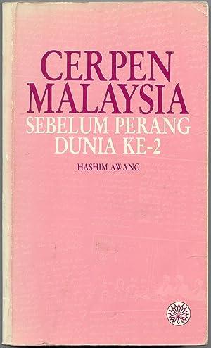 Cerpen Malaysia: Sebelum Perang Dunia Ke-2: Awang, Hashim [editor]