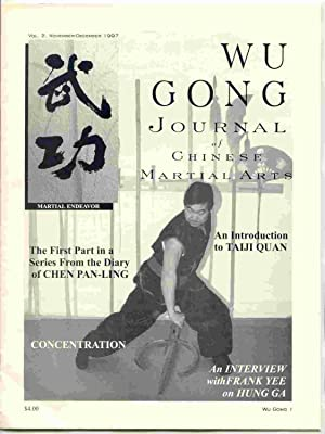 Wu Gong Journal of Chinese Martial Arts, Vol. 2, November-December 1997: Scrima, Nick [editor]