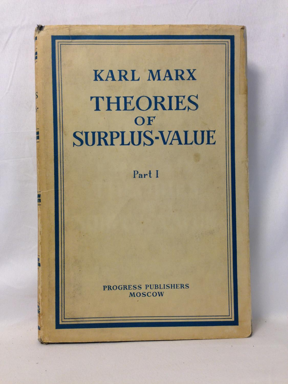 the concept of surplus value by karl marx