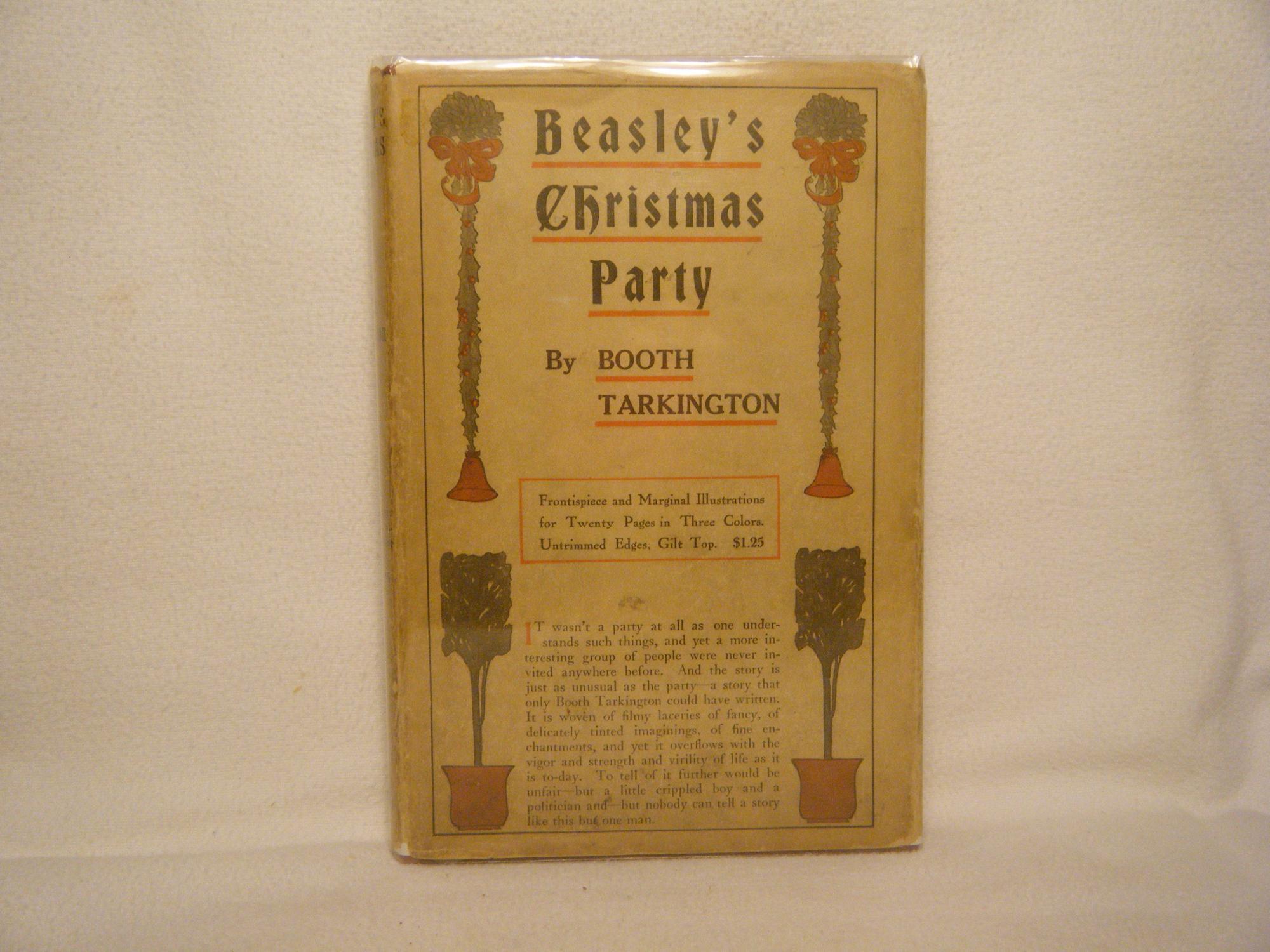 Mr. Beasley's Christmas Party Tarkington, Booth Very Good Hardcover