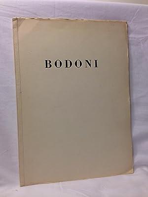 Bodoni Antiqua Und Kursiv