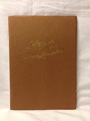 Letterproef Van De Machinale Letterzetterij