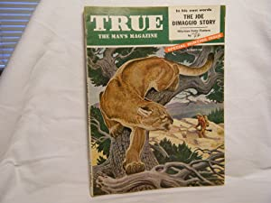 True the Man's Magazine October 1954 with