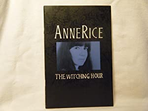 The Witching Hour Prepublication First Chapter: Rice, Anne