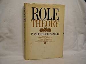 Role Theory Concepts and Research: Biddle, Bruce J.