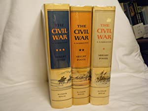 The Civil War (3 Volume Set): Foote, Shelby