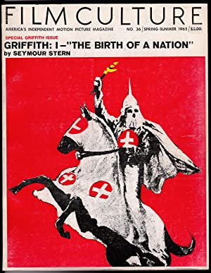 "FILM CULTURE: SPECIAL GRIFFITH ISSUE [NO. 36 / SPRING - SUMMER 1965]: Griffith : 1 - ""The..."