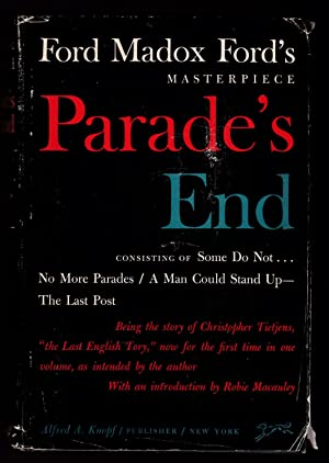 PARADE'S END: Ford, Ford Madox