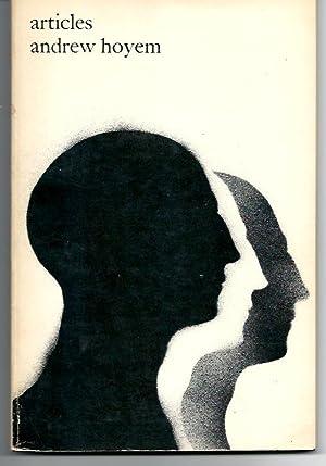 ARTICLES: Poems 1960 - 1967: Hoyem, Andrew