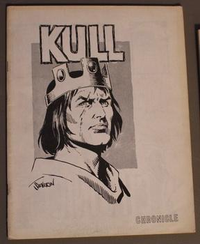 CHRONICLE #2 (1972 Fanzine) KULL the CONQUEROR cover /Captain Marvel and the Polluted man comic strip by A. James Hanley; George S. Breo (ed & Pub.)