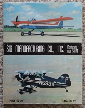 Catalog 39  Sig Manufacturing Co  , Inc
