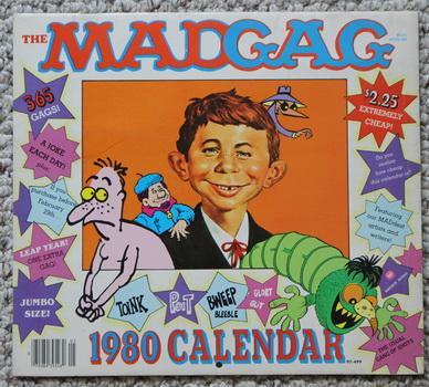 The Madgag 1980 Calendar By Sergio Aragones Dave Berg Bob Clarke
