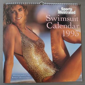 f4e79eb8614a5 SPORTS ILLUSTRATED SWIMSUIT CALENDAR 1993. ( Kathy Ireland cover)  Wall  Calendar.