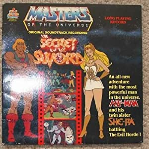 MASTERS OF THE UNIVERSE - the SECRET of the SWORD. (HE-MAN & His Twin sister SHE-RA; Original Sou...
