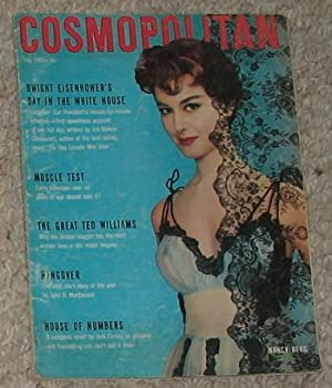 COSMOPOLITAN MAGAZINE (July 1956; Volume-141 #1); Nancy Berg Photo on Cover; A Day with Dwight D. ...