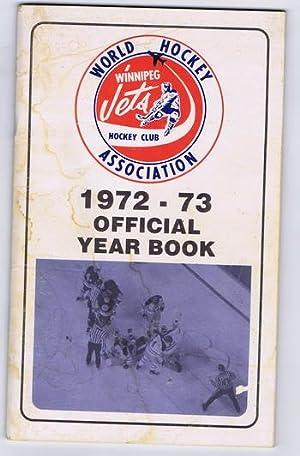 WINNIPEG JETS Hockey Club 1972-1973 Official YEARBOOK - WHA / World Hockey Association - FIRST...