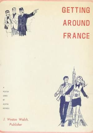Getting Around France - A Poster Series (Portfolio of B&W PHOTO Pinup's with Descriptions of Vari...