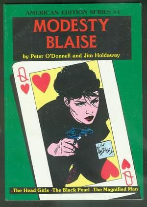 "MODESTY BLAISE - ""The Head Girls"" // ""the Black Pearl"" // &..."