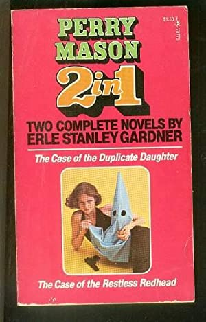 THE CASE OF THE DUPLICATE DAUGHTER //: Gardner, Erle Stanley.