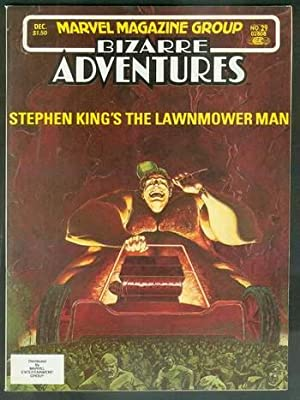 LAWNMOWER MAN By Stephen King in BIZARRE: KING, STEPHEN. --