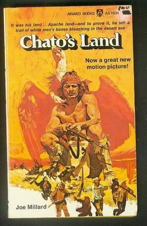 "CHATO'S LAND. (Award Books # AS1034 ) Half-Breed, ""Redskin Nigger"" Apache Indian ..."