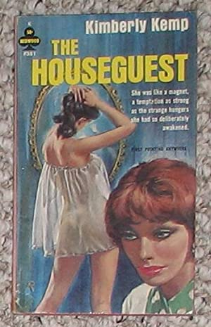 The Houseguest (Midwood F381) LESBIAN LOVE.: KEMP, KIMBERLY (Pseudonym