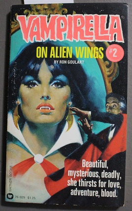 ON ALIEN WINGS. (Second Book #2 /: GOULART, RON (Also