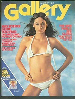 GALLERY - Magazine (Volume 5 #9; August 1977;) The Man Who Loved Flowers = 4 page ORIGINAL Short ...