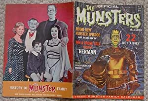 THE OFFICIAL MUNSTERS MAGAZINE Volume-1 #1 (1965). Original Munsters Episode - Not Seen on TV
