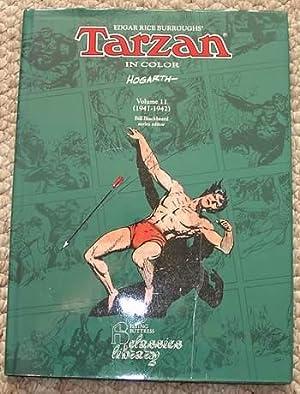 Edgar Rice Burroughs' TARZAN IN COLOR: VOLUME 11 (1941-1942 Newspaper Color Sunday Page Comic ...