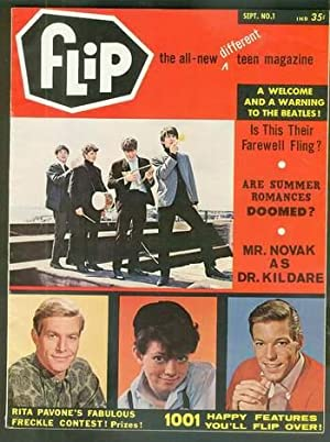 FLIP Volume 1 #1 September/1964 (the All-New different TEEN Magazine; Kahn pub); Mr. Novak, Dr. K...