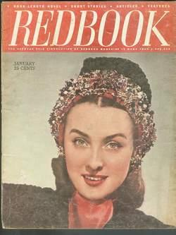 REDBOOK January 1946 (Magazine; Volume 86 #3): AUGUST DERLETH -