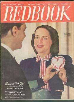 REDBOOK February 1948 (Magazine; Volume 90 #4);: AUGUST DERLETH -