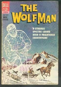the WOLFMAN - #12-922-308 (August/1963; 1st Printing;: Curt Siodmak