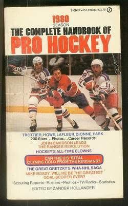 COMPLETE HANDBOOK OF PRO HOCKEY 1980 EDITION: Hollander, Zander (Editor)