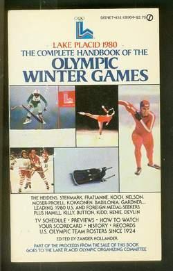 THE COMPLETE HANDBOOK OF OLYMPIC WINTER GAMES-: Hollander, Zander (Editor)