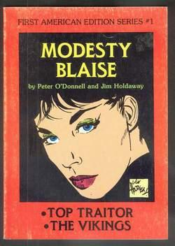 """MODESTY BLAISE - """"Top Traitor"""" // """"The: O'Donnell, Peter. (intro"""