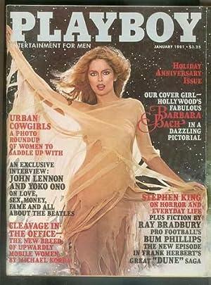 PLAYBOY - Magazine (Volume 28 #1; January: KING, Stephen, Bruce