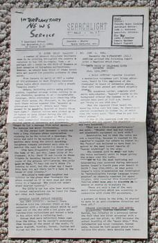 SEARCHLIGHT ( Interplanetary News Service Pub.;: Editor = Timothy