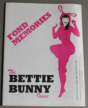 FOND MEMORIES THE BETTIE BUNNY - NEWSLETTER TRIBUTE TO BETTIE PAGE, QUEEN OF PINUP MAGAZINE. -