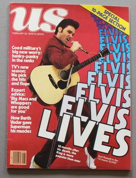 US Magazine . - Kurt Russell as Elvis on cover. ( February 20 1979; Volume 55 #2); - SPECIAL 10-...