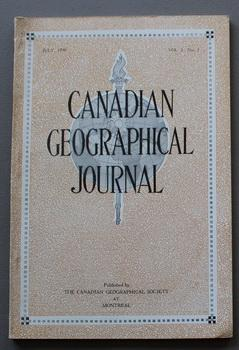 Canadian Geographical Journal, July 1930, Vol. I, No. 3 - 3rd ISSUE