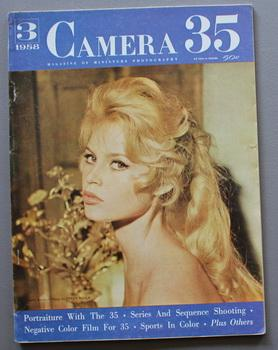 CAMERA 35 Magazine of Miniature Photography. - Volume 2 #3; - Brigette Bardot on Cover.