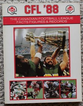 CFL '88 THE CANADIAN FOOTBALL LEAGUE FACTS: John Laboni, Jenifer