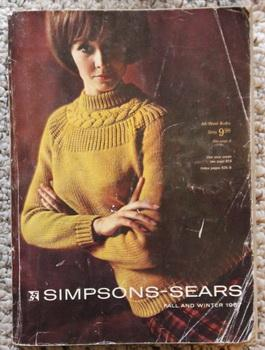 Simpsons-Sears 1967 vintage catalog Mailorder collectors Fall: Simpsons-Sears Limited