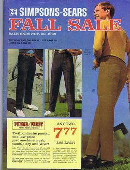 Simpsons-Sears Fall Sales -November 30, 1968 vintage: Simpsons-Sears Limited