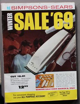 Simpsons-Sears Winter Sales '69 - Sale Ends: Simpsons-Sears Limited